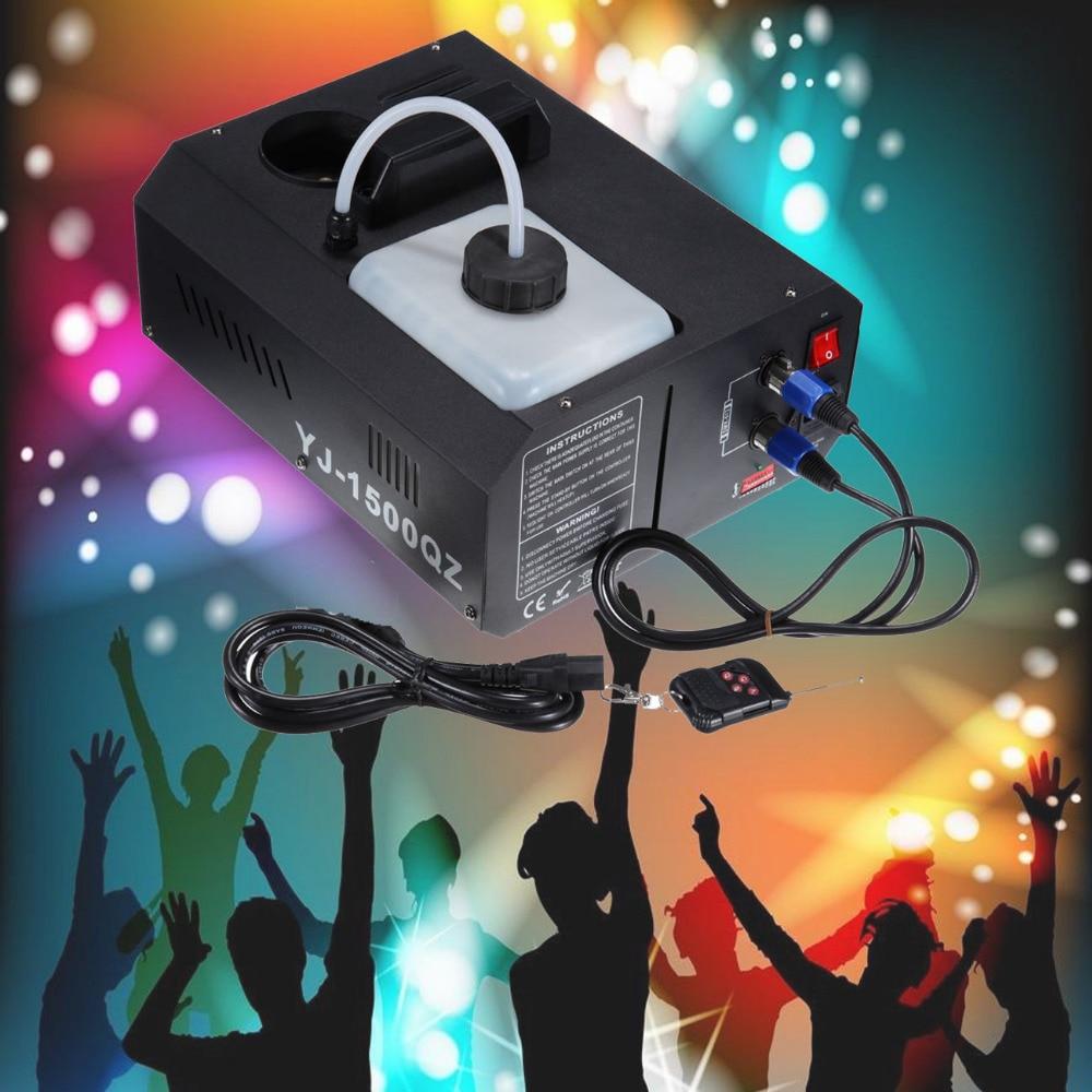 (Shipping From AUD ) 1500W Vertical Smoke Fog Machine 2L Party Stage Club DJ DMX w/ Remote