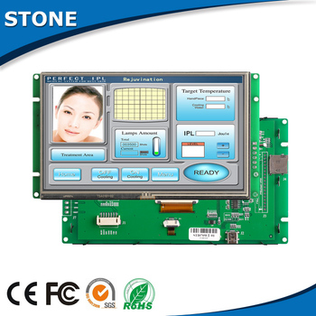 цена на STONE 7.0 TFT LCD Control Panel + Touch Screen Used In Industrial Control Fields Support USB Protocal