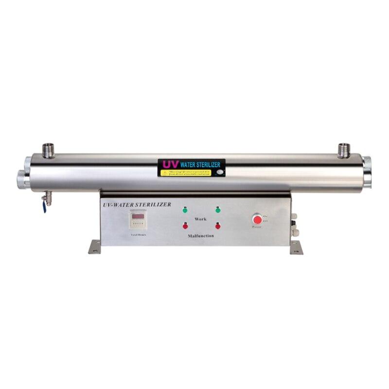 1GPM uv sterilizer 110W 304 Stainless Steel UV Filter фильтр для воды aquapro uv s 1gpm