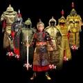 Cosplay ropa armadura Armadura armadura de vestuario General Stage Show Performance TV Play Uso Del Traje Hanfu Traje ropa de Los Hombres china