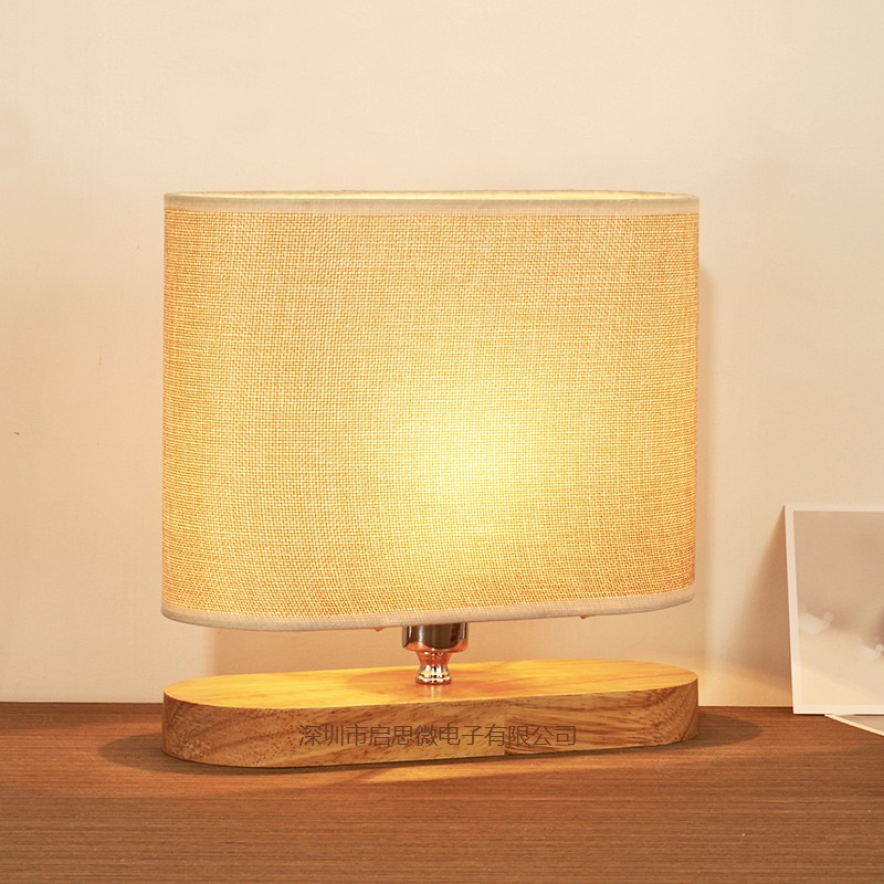 ФОТО Modern Eye-protective table Lamp Office Study Bedroom Bedside table Lamp wooden Table Light home decoration lighting