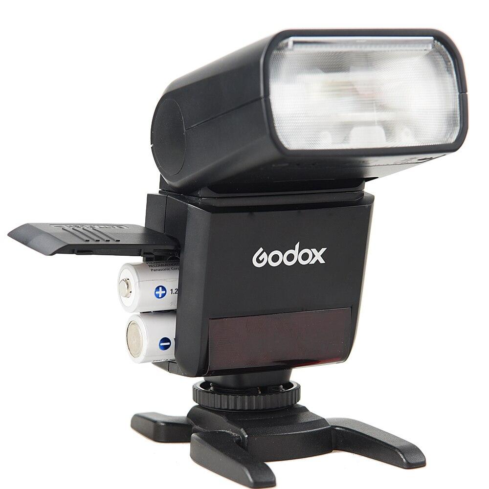 Image 4 - Godox Mini TT350O TT350 O 2.4G TTL GN36 HSS Camera Flash Speedlight X1T O Transmitter Trigger For Panasonic Olympus Lumixflash speedlightcamera flashspeedlight trigger -