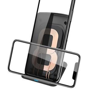 Image 4 - 10 ワット高速チーワイヤレス充電器電話ワイヤレス充電誘導充電器のiphone xr xs max x 8 プラスサムスンギャラクシーS9 S8