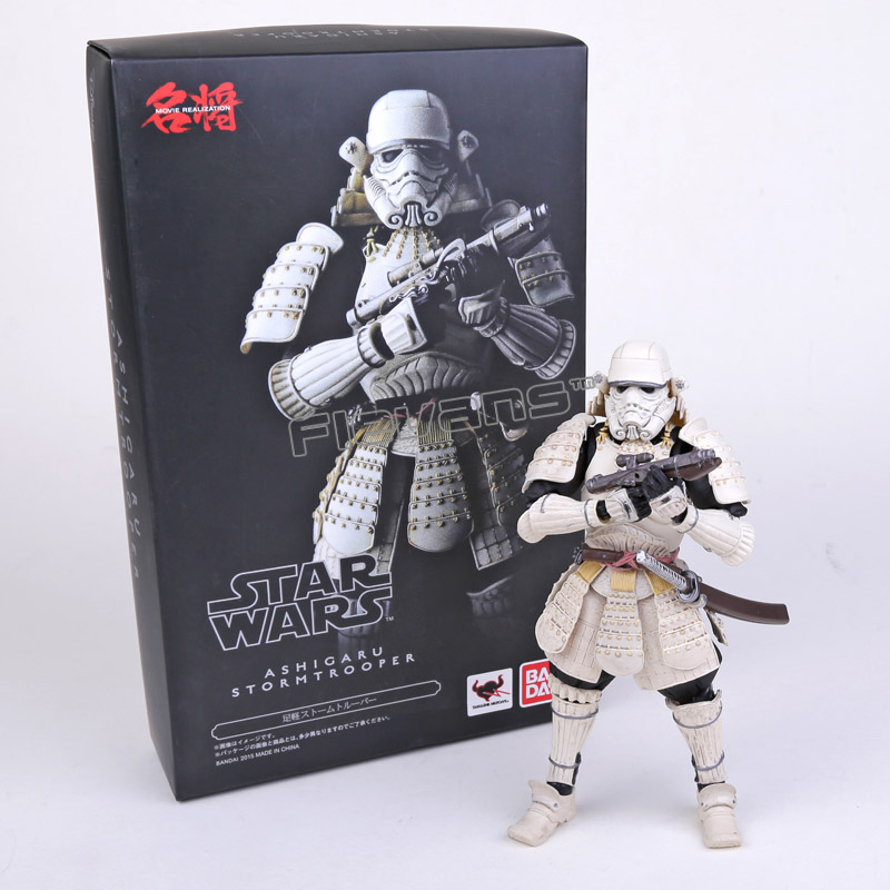 Star Wars Ashigaru Stormtrooper PVC Action Figure Collectible Toy 17cm neca planet of the apes gorilla soldier pvc action figure collectible toy 8 20cm