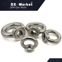 M24   A2-70 DIN582 ss304 lifting eye nuts   Chinese stainless steel manufactor  B013