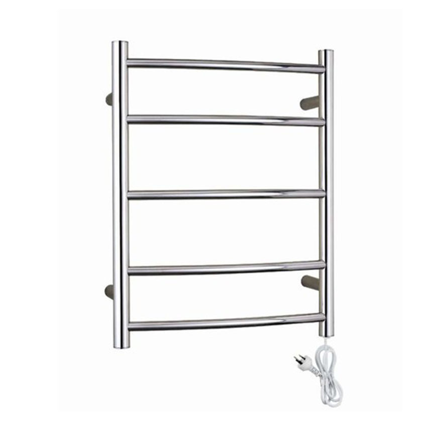 1pc Heated Towel Rail Holder Bathroom Accessories Towel: 1PC YEK 8047 Stainless Steel Electric Wall Mounted Towel