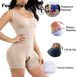 Image 4 - Feelingirl fajas colombianas redutora, modeladores de corpo inteiro, emagrecimento, abajur sobretudo, recuperação pós parto, modeladores de cintura