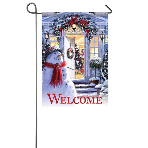 Red Scarf Snowman Outdoor snowman decoration 5c64ef1f43fcf