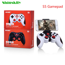 Unique Gen Recreation S5 Wi-fi Bluetooth Gamepad Joystick for Android IOS iPhone Pill PC TV Field Maintain Distant Controller Joystick