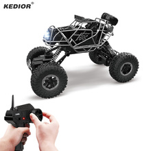 Remote Control Car 2.4G 4CH 4WD Climbing RC Car Radio Controlled Machine Bigfoot Cars Toy Model Off-Road Vehicle