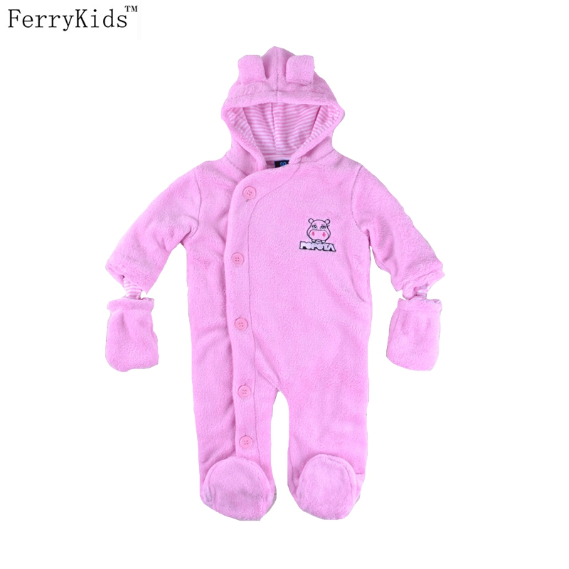 2016 Limited Baby Romper Boys Girls Baby Clothes Winter Coral Velvet Newborn Infant Clothing Jumpsuit Winter Rompers newborn baby rompers baby clothing 100% cotton infant jumpsuit ropa bebe long sleeve girl boys rompers costumes baby romper