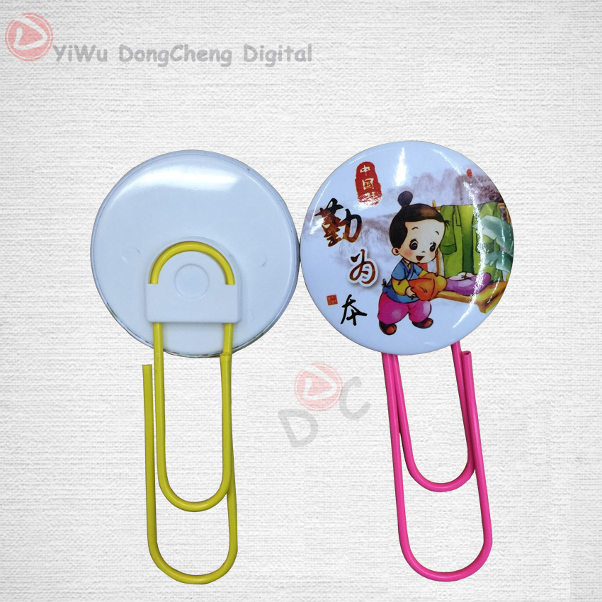 2016 Bookmarks multicolor 58mm Paper clip material Page Holder Zakka stationary office materials 200set 140 page note paper creative fruit design