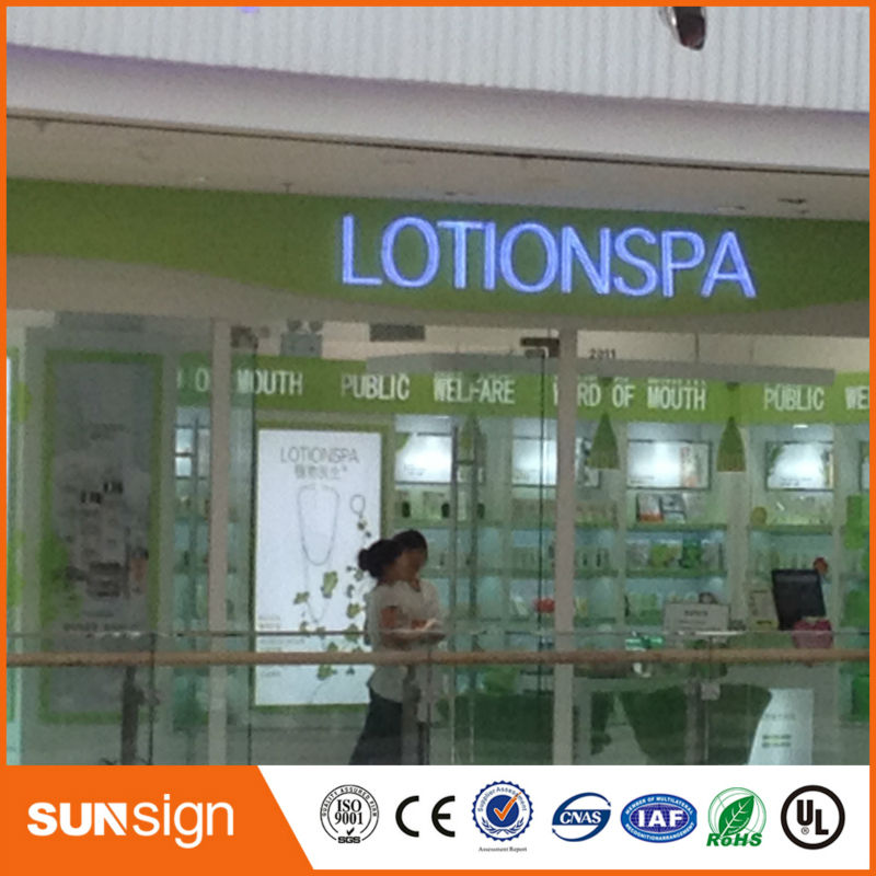 Wholesale Led Sign Letters Stainless Steel Backlit Signs