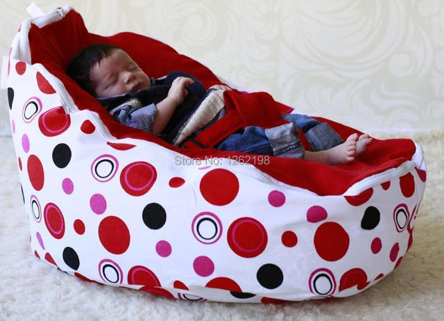Pleasant Us 38 0 Free Shipping Red Circles Dot Newborn Babies Beanbag Chair Kids Toddler Baby Bean Bags Seat Chair Sofa Bed Furniture Dd14 L185 In Baby Seats Gmtry Best Dining Table And Chair Ideas Images Gmtryco