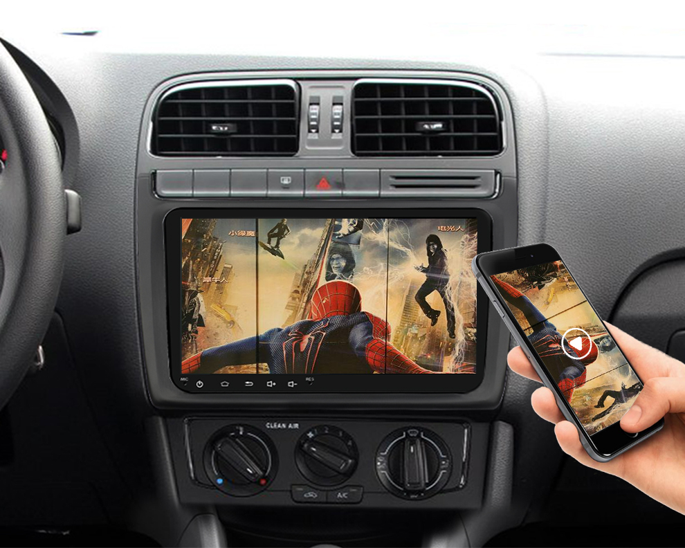New 9 inch Car Multimedia Player Android 8 GPS Auto radio 2 Din USB For VolkswagenVW PassatPOLOGOLFSkodaSeatLeon Radio (12)
