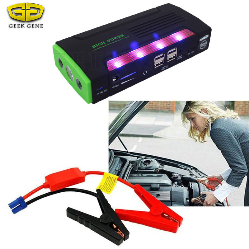 Multi-function Booster 68800mAh Car Jump Starter Battery 12V Emergency Starting Device Car Charger Battery Power Bank 600A 12v 15000mah multi function car jump starter battery charger power bank booster