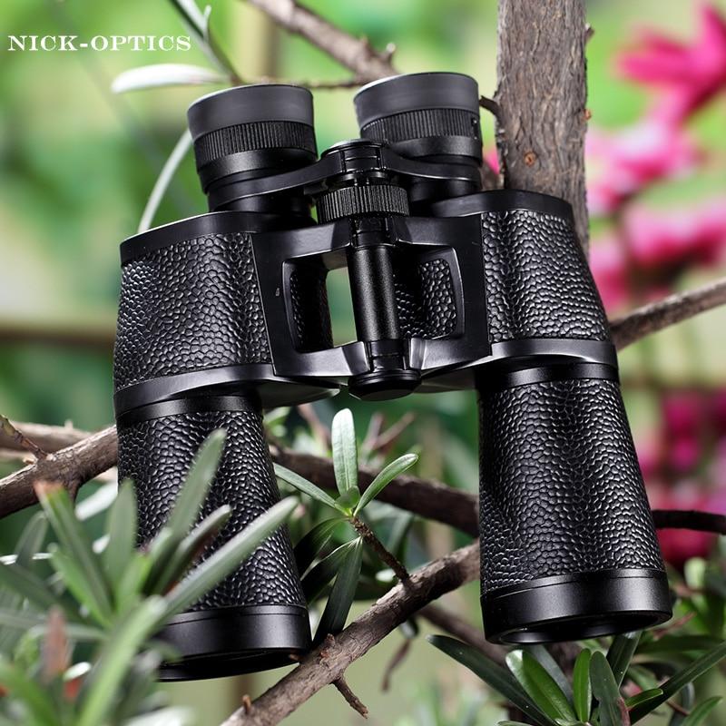 Rouya мощный бинокль 10x50 Профессиональные Германии Стиль бинокль LLL Ночное видение BAK4 HD telesope Высокое качество без инфракрасный