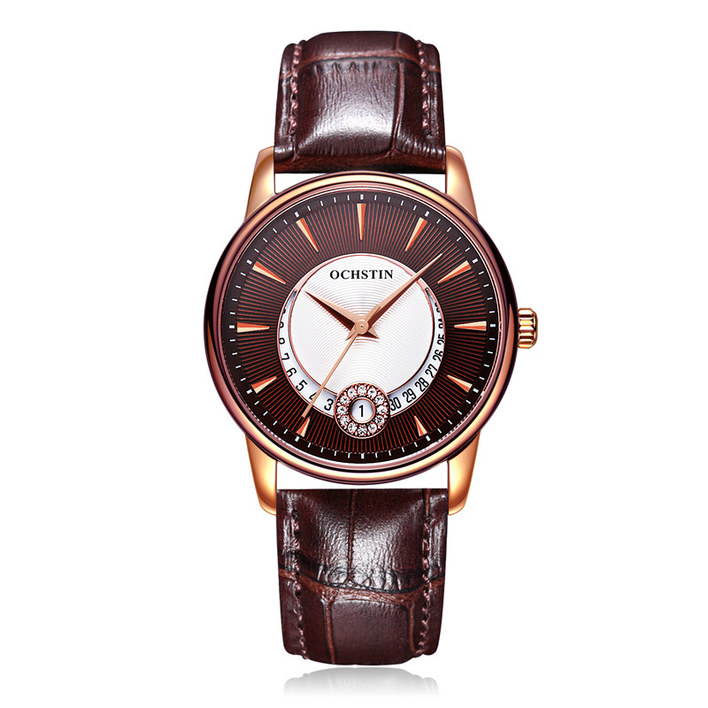 5b609207a462 OCHSTIN Most Popular Womens Watches Luxury Leather Watch The Diamond  Encrusted Luminous Dial Fashion Cute Student Quartz Watch
