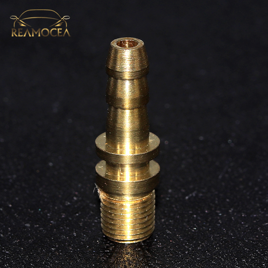 Reamocea 1Pc Car Auto Brass American Type Tyre Wheel Tire Air Chuck Inflator Pump Valve Clip Clamp Connector Adapter