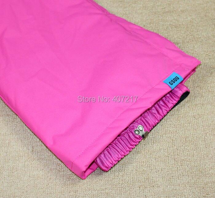 Erksates värvides veekindlad püksid