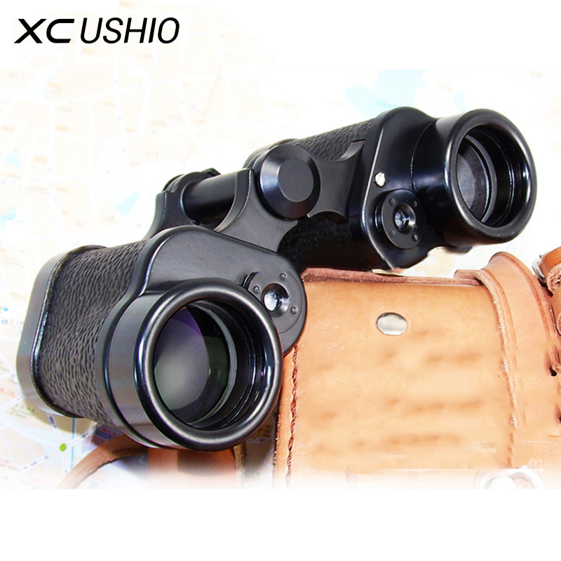 Military Outdoor Binocular Telescope 8X30 with Built-in Rangefinder Reticle 120M/1000M for Travel Hiking Adventure Best Version compact 2 5x26 pocket binocular telescope with strap for children color assorted