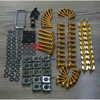 Accessories fits Yamaha R25 R3 R15 15 16 fairing screw housing screw screwdriver modified color screw aluminum alloy