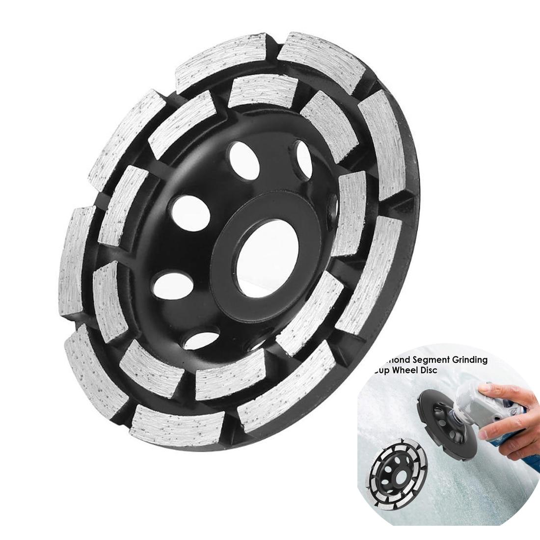 115/125/180mm Diamond Grinding Disc Abrasives Concrete Tools Grinder Wheel Metalworking Cutting Grinding Wheel Cup Saw Blade|Grinding Wheels| |  - title=