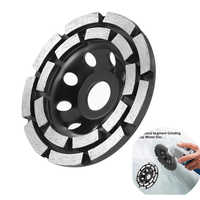 115/125/180mm Diamond Grinding Disc Abrasives Concrete Tools Grinder Wheel Metalworking Cutting Grinding Wheel Cup Saw Blade