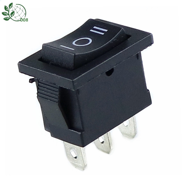 KCD1 6A 250VAC /10A 125VAC On/Off/On Rectangle Rocker Switch 3 Position Car Dashboard Dash Boat SPDT 12V 3 PIN