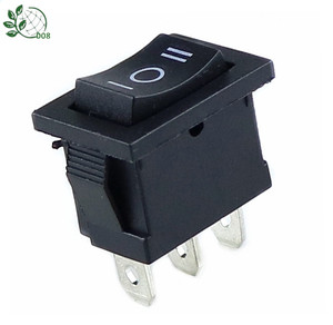 KCD1 6A 250VAC /10A 125VAC On/Off/On Rectangle Rocker Switch 3 Position Car Dashboard Dash Boat SPDT 12V 3 PIN(China)