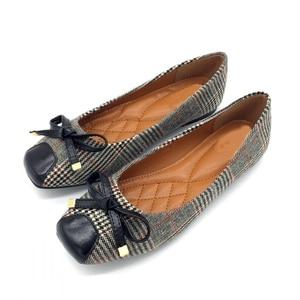 Image 5 - BEYARNE נעלי נשים בלט דירות נעליים להחליק על אביב סתיו רדוד אישה אחת נעלי גבירותיי נקבות עבודה הנעלה ZapatosE225