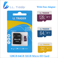 LL TRADER Micro SD Card For Smartphone/Tablet 128GB 64GB 32GB Memory Card Storage Class 10 TF Card with SD Adapter Transfer
