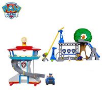 Paw Patrol Dog Puppy Patrol Car Action Figures Patrulla Canina Car Parking Lot Toy Set Kids Toys Gifts