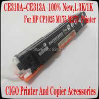 Ce310a ce311a ce312a ce313a compatível cartucho de toner de cor 126a para hp laserjet cp1025 cp1025nw m275mfp m175a m175nw toner