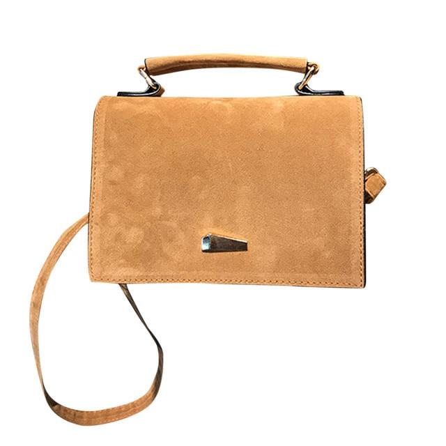 Women Bag Flap Hasp Solid...