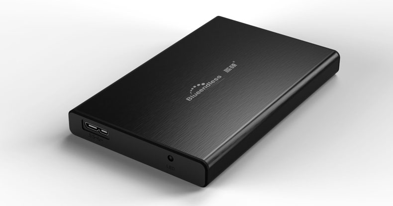 6Gbps 2.5 usb 3.0 aluminum usb box hdd 2.5 top sale sata disk case high quality enclosure for hard drive