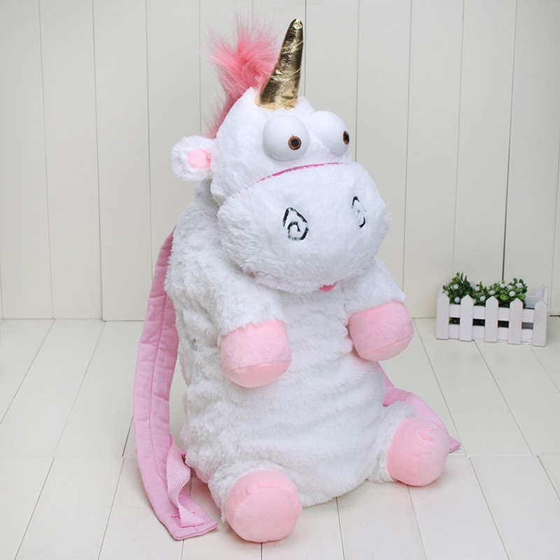Plush Unicorns Children Backpacks Kindergarten Bitherday Gifts For Girls and Boys Cute Plush toys Bags Despicable Me Animal pack joseph slate miss bindergarten gets ready for kindergarten