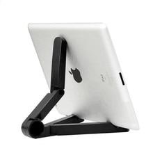 купить Foldable Tablet Holder Desktop Big Phone Holder Stand Bracket Mount Adjustable for IPad Tablet Mobile Phone 4-10 Inch по цене 277.18 рублей