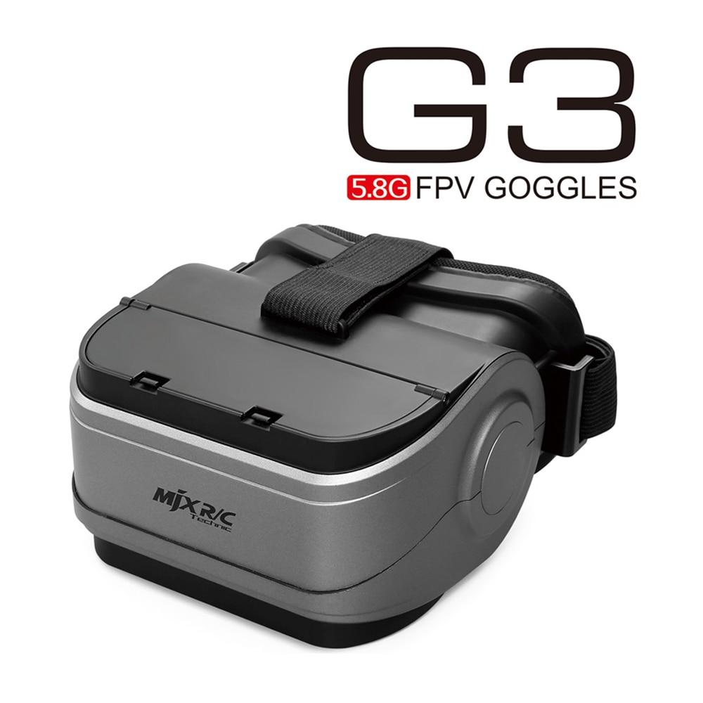 MJX G3 Occhiali FPV 5.8 GHz VR Occhiali per D43 Monitor Brushlesss Rc Drone MJX Bugs 6 Bugs 8 Bug3 Auricolare ricevitore