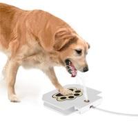 Durável Trouble-Free Ao Ar Livre Fonte de Água Potável Cat Dog Pet Cachorrinho Novo Cão de Aspersão