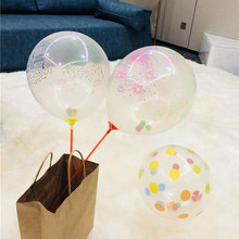 1pcs Baby Toys 0-12 Months Air Hat toys Balloons For Children Birthday Party Decoration toys Hat Happy Birthday Gift For Kid(China)