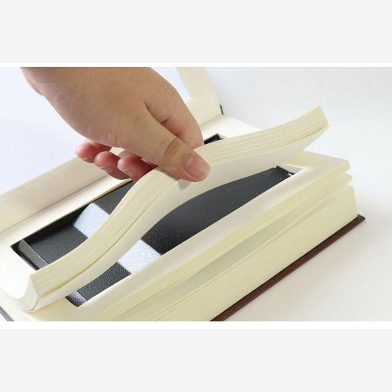 Купить с кэшбэком Book Safes Key Lock Type High Quality Secret Book Hidden Security Safe Box Metal Steel Simulation Classic Book Style Size M