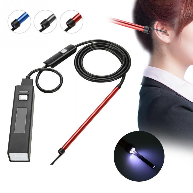 Multifuncation Ear Cleaning Wifi Endoscope Hd Visual Ear