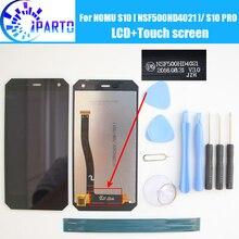 NOMU S10 NSF500HD4021 LCD תצוגה + מגע מסך 100% המקורי LCD Digitizer זכוכית לוח החלפה עבור NOMU S10 פרו גרסה