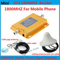 LCD display! Mini DCS 1800MHZ booster,4G LTE cellphone signal repeater,DCS mobile phone signal amplifier +yagi & ceiling antenna