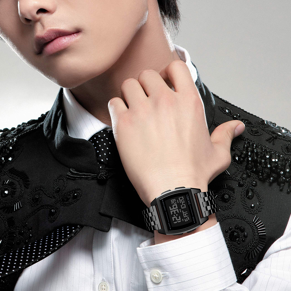 Image 4 - SKMEI Military Sport Watch Men Top Brand Luxury Electronic Wristwatch LED Digital Wrist Watches For Male Clock Relogio MasculinoDigital Watches   -