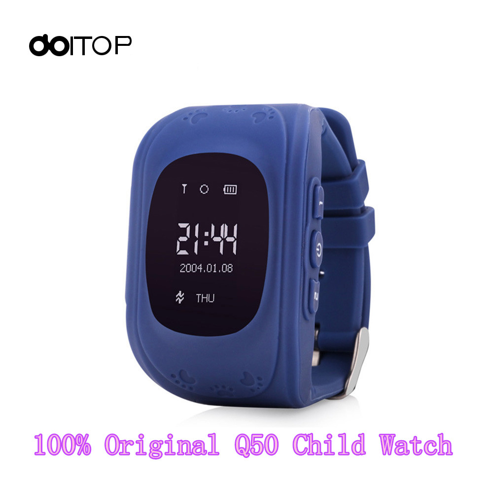 DOITOP Kids Q50 <font><b>GPS</b></font> Smart Watch Wristwatches LBS Anti-Lost Multi-Function Smartwatch for Iphone Android Phone Reloj Inteligente