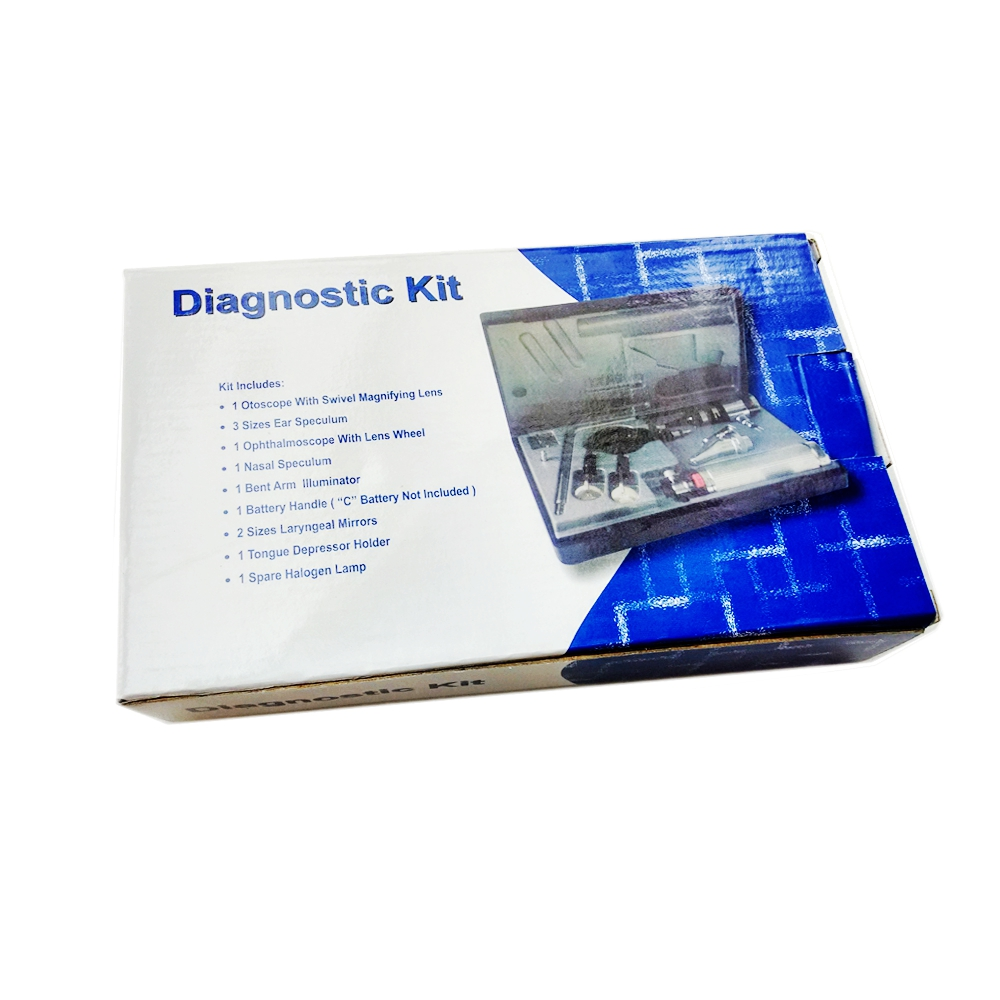 Blessfun Multi-purpose set Professional Medical Diagnositc ENT Kit - Sjukvård - Foto 3