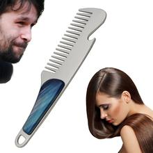Portable Hair Combs Mustache Shaving Anti-static Pocket Male Brush For Shaping Tool