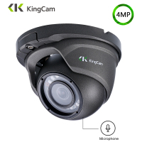KingCam Metal Anti vandal POE IP Camera 2.8mm Lens Wide Angle 1080P 4MP 5MP Security ONVIF CCTV Surveillance Dome SMD IP Cam